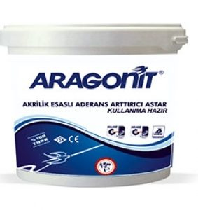 ARAGONİT-AKRİLİK ESASLI ADERANS ARTIRICI ASTAR (KULLANIMA HAZIR)