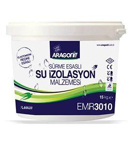 ARAGONİT-ELASTOMERİK REÇİNE ESASLI SU İZOLASYON MALZEMESİ-EMR 3010
