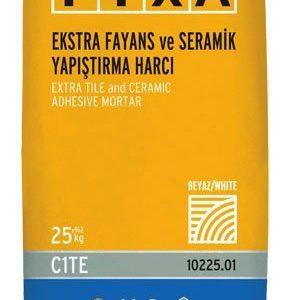 FİXA-FİXA Ekstra Fayans ve Seramik Yapıştırma Harcı (Beyaz)