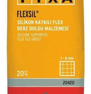 FİXA-FLEXSİL Silikon Katkılı Flex Derz Dolgu Malzemesi