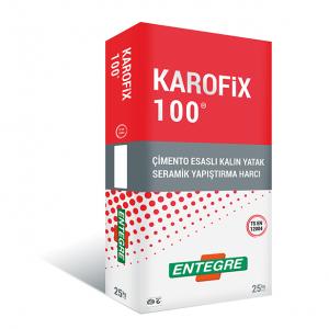 ENTEGRE-KAROFİX 100 GRİ