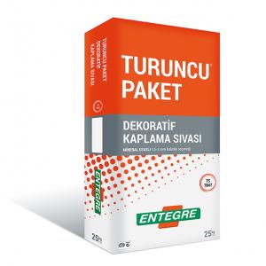 ENTEGRE-TURUNCU PAKET®DEKORATİF KAPLAMA SIVASI