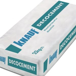 KNAUF-Decocement Beyaz 1