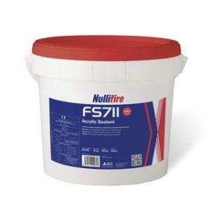 NULLIFIRE-FS711 Yangın Dayanımlı Sprey Akrilik Sızdırmazlık Malzemesi